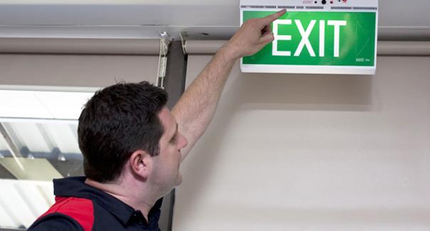 exit light testing jims